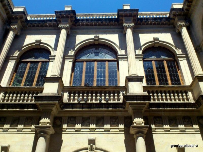 Венецианская Лоджия, балконы внутри атриума