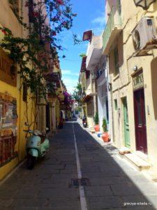 Улочка Старого города Ханьи