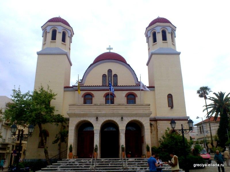 Церковь Четырех Мучеников в Ретимно