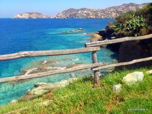 Вид на море с территории отеля Капсис