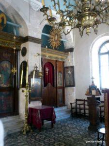 Левый придел храма Св. Варвары