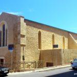 Вид тыльной стены. Церковь Святых Апостолов Петра и Павла