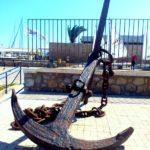 Якорь в порту Ираклиона