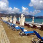 Пляжи Амудары слева