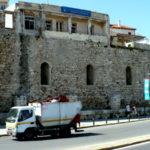 Часть стены крепости Кулес
