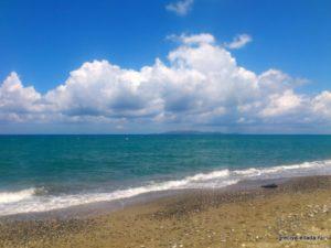 Песочек и море Амудары