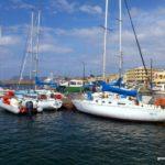 Белые яхты