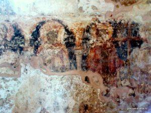 Фрагмент росписи. Церковь Святых Апостолов Петра и Павла