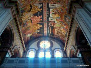 Фрески. Кафедральный собор Святого Мины