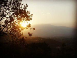 Закат в Платамонасе