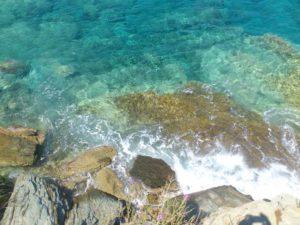 Цвет моря в Ретимно