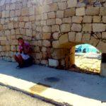 Каменная кладка стены крепости Кулес