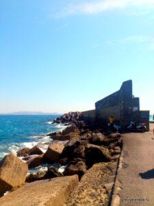 Торцевая часть крепости Кулес