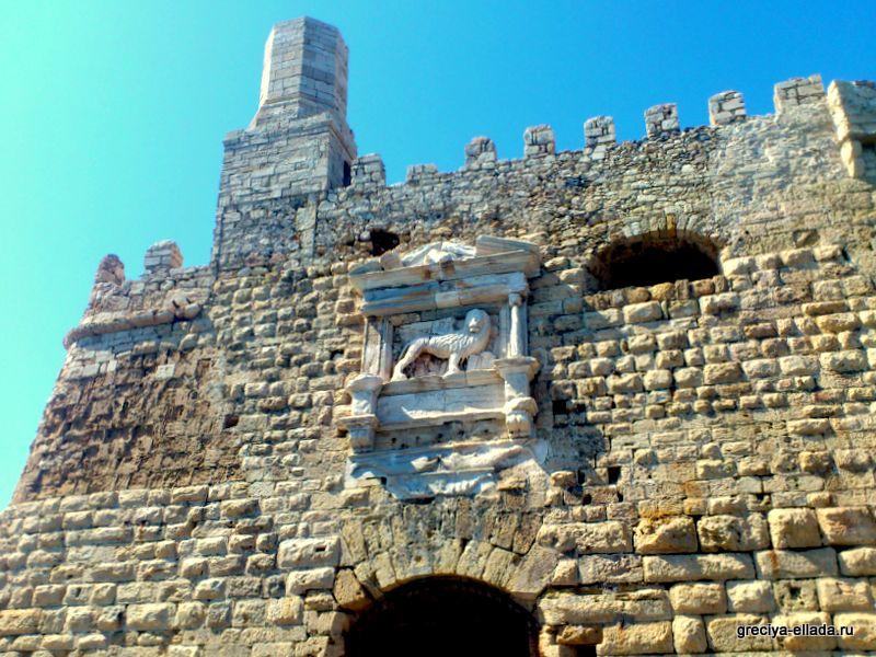 Главная стена крепости Кулес