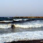 Шторм в Средиземном море