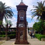 Памятная башня из металла в Ретимно