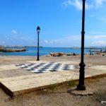 Шахматная доска на набережной