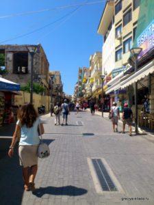 Пешеходная улица старого города