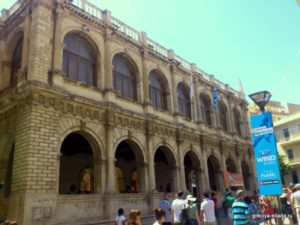 Венецианская Лоджия. Вид с главной улицы