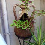 Амфора - горшок для цветов