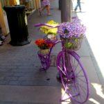 Уличный декор - велосипед