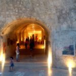 Вход в крепость Кулес