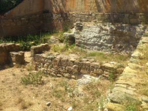 Агия Пелагия, Капсис, раскопки