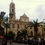 Фасад собора и колокольня