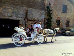 Прогулочная карета
