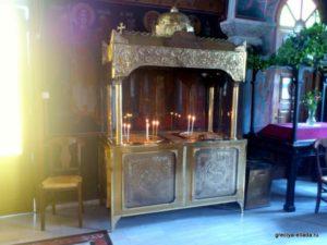 Свечной столик канун