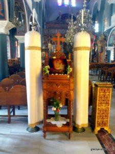 Икона Спасителя в соборе Ретимно