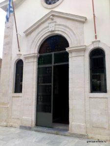 Центральный вход в храм Госпожи Ангелов