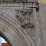 Элемент оформления арки