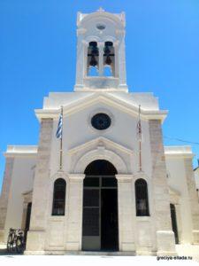 Фасад церкви Госпожа Ангелов