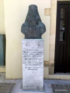 Памятный бюст Архимандриту Григорию