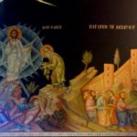 Роспись - Евангельский сюжет о Преображении