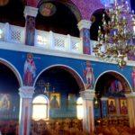 Клирос в церкви Четырех Мучеников