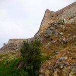 Вид на угол крепости Фортецца со стороны моря