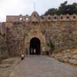 Главный вход в крепость Фортецца