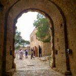 Арка главного входа в крепость Фортецца