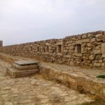 Галерея с амбразурами крепости Фортецца