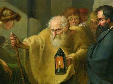 Диоген искал человека ( Тишбейн, Иоганн Генрих Вильгельм)