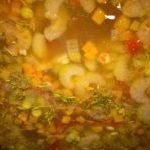 Суп факес во время варки
