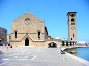 Храм Благовещения Пресвятой Богородицы в Родосе