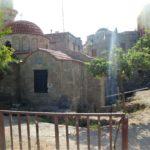 Рядом с Церковью Святого Спиридона Тримифунтского проводятся работы