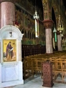 Родос, Благовещенский Собор, икона и галерея