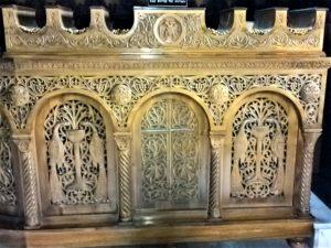 Родос, Благовещенский Собор, свечной столик