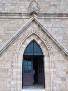 Родос, Благовещенский Собор, вход
