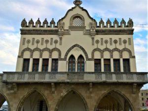 Родос, Дом Правительства, фасад