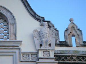 Родос, Дом Правительства, орел